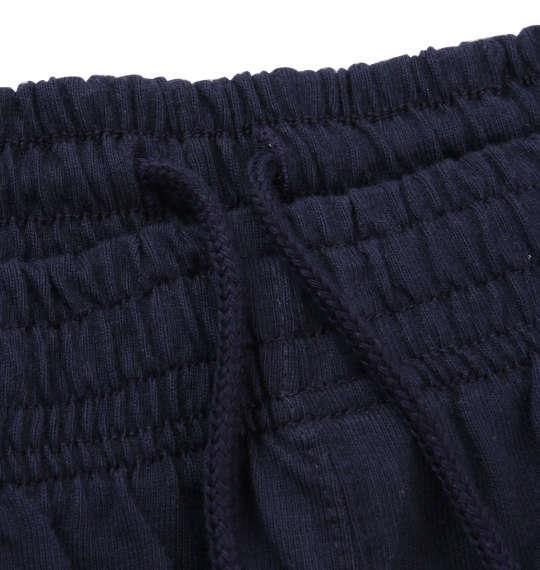 大きいサイズ メンズ 豊天 とんでる美豚 天竺 ハーフパンツ ズボン ボトムス パンツ 短パン ネイビー 1154-8240-1 3L 4L 5L 6L