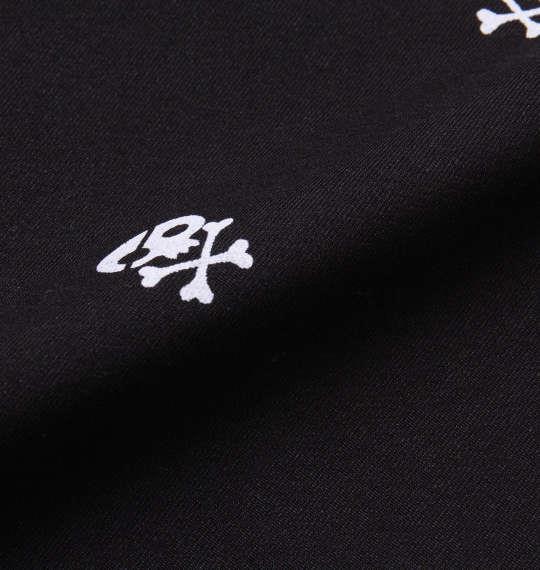 大きいサイズ メンズ LOUDMOUTH ストレッチ 飛び柄 パンツ ボトムス ズボン パンツ ブラック 1174-8245-1 100 105 110 115 120 130