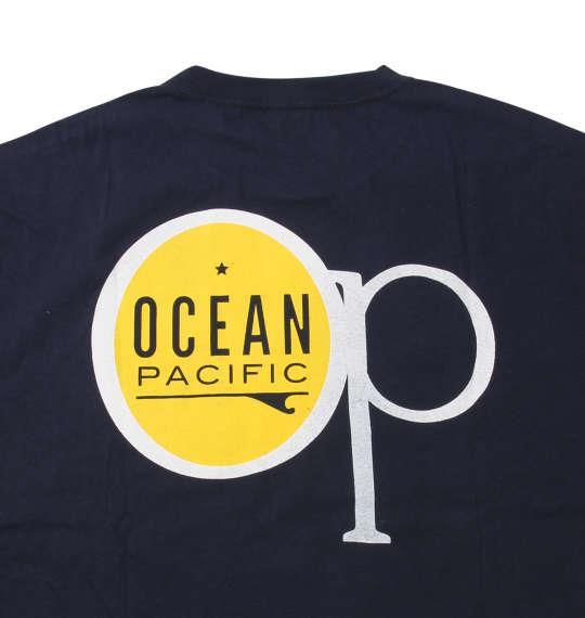 大きいサイズ メンズ OCEAN PACIFIC 半袖 Tシャツ 半袖Tシャツ ネイビー 1168-8263-1 3L 4L 5L 6L 8L