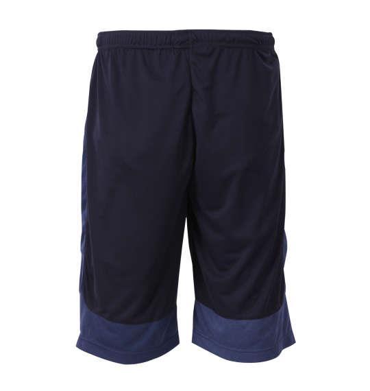 大きいサイズ メンズ Phiten DRYメッシュ × 杢メッシュ ハーフパンツ ボトムス ズボン パンツ 短パン ネイビー 1174-8205-1 3L 4L 5L 6L 8L