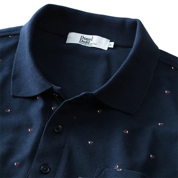 大きいサイズ メンズ DANIEL DODD 総柄 半袖 ポロシャツ azpr-1802121