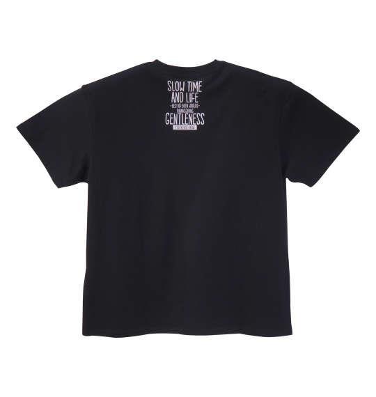 大きいサイズ メンズ PREPS 半袖 Tシャツ 半袖Tシャツ ブラック 1158-8590-2 3L 4L 5L 6L 8L