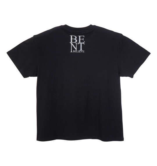 大きいサイズ メンズ PREPS 半袖 Tシャツ 半袖Tシャツ ブラック 1158-8592-2 3L 4L 5L 6L 8L