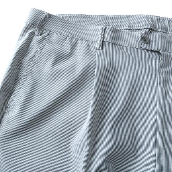 大きいサイズ メンズ Miramoda コードレーン スーパー ストレッチ ワンタック スラックス ズボン ボトムス ビジネスパンツ 3815