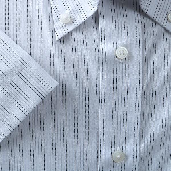 2点目半額 大きいサイズ メンズ NEWS PRESS ビジネス Yシャツ 半袖 ワイシャツ ボタンダウン ビジネスシャツ 形態安定 ehnp90-72