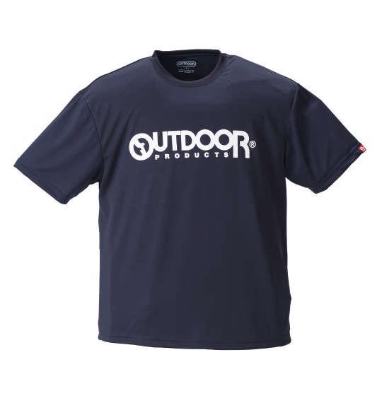 大きいサイズ メンズ OUTDOOR PRODUCTS DRY メッシュ 半袖 Tシャツ 半袖Tシャツ ネイビー 1158-8200-3 3L 4L 5L 6L 8L