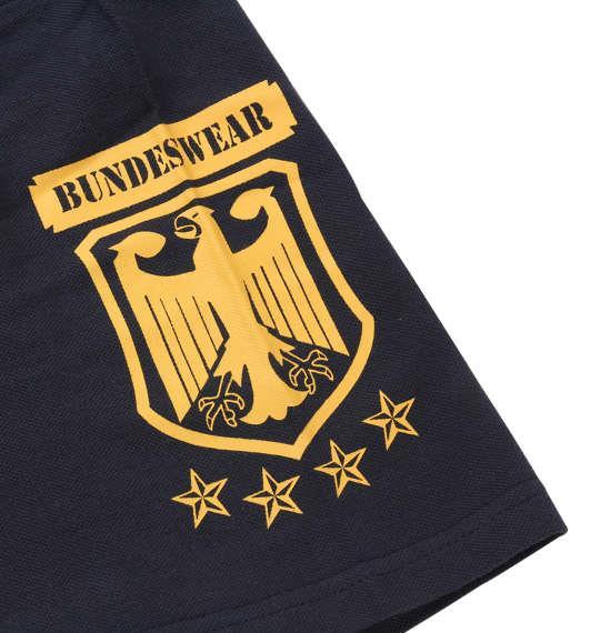 大きいサイズ メンズ BUNDESWEAR 鹿の子 半袖 ポロシャツ ネイビー 1168-8241-1 3L 4L 5L 6L 8L