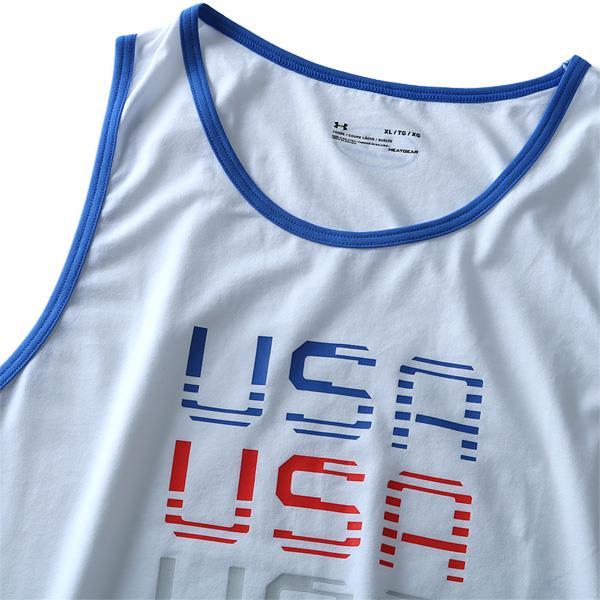 大きいサイズ メンズ UNDER ARMOUR アンダーアーマー プリント タンクトップ USA スポーツウェア USA直輸入 1309795