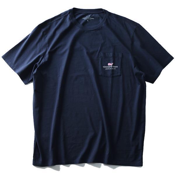大きいサイズ メンズ Vineyard Vines (ヴィニヤードヴァインズ) ポケット付き半袖プリントTシャツ USA直輸入 1v6112