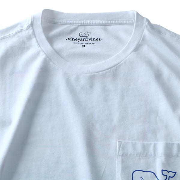 大きいサイズ メンズ Vineyard Vines (ヴィニヤードヴァインズ) ポケット付き半袖プリントTシャツ USA直輸入 1v6119