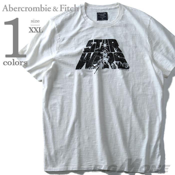 大きいサイズ メンズ Abercrombie&Fitch (アバクロ) 半袖デザインTシャツ USA直輸入 123-238-2295