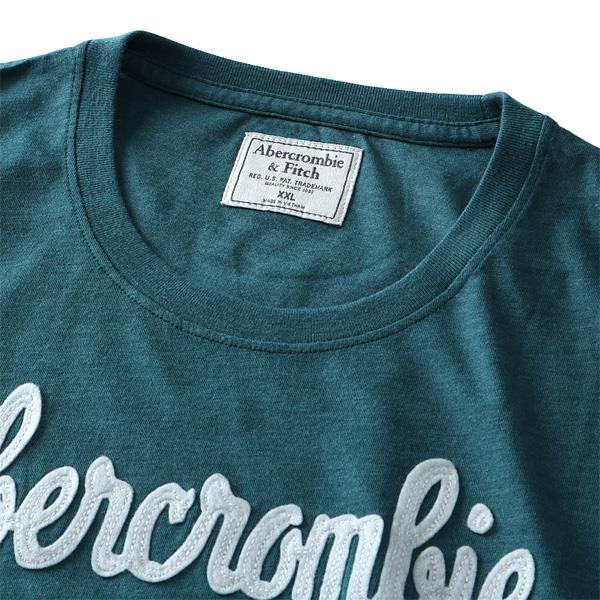 大きいサイズ メンズ Abercrombie&Fitch (アバクロ) 半袖デザインTシャツ USA直輸入 175-123-0058