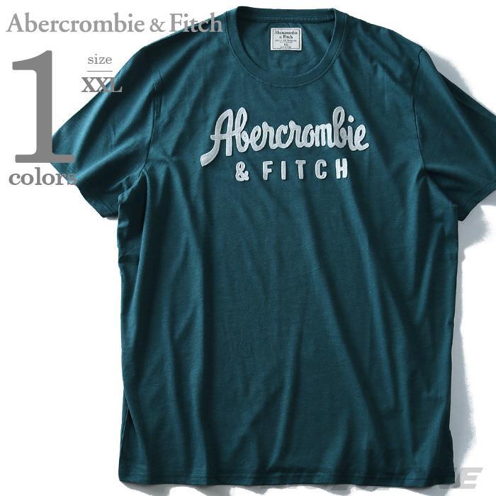 ブランドセール 【大きいサイズ】【メンズ】Abercrombie&Fitch(アバクロ) 半袖デザインTシャツ【USA直輸入】175-123-0058