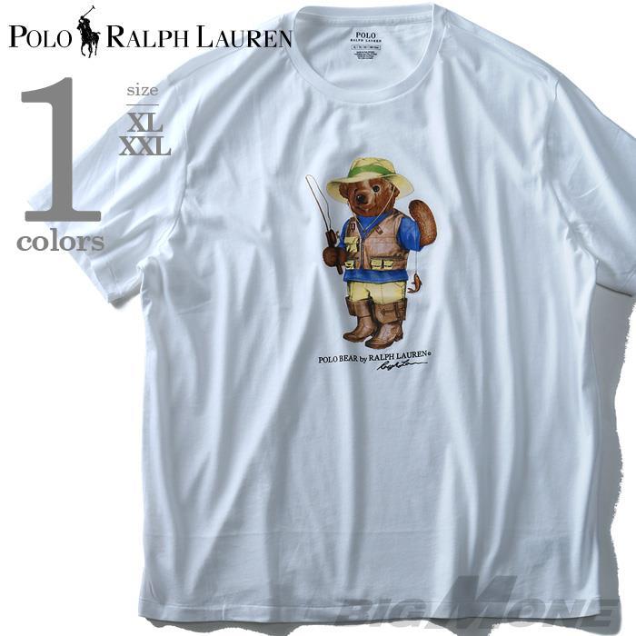 大きいサイズ メンズ POLO RALPH LAUREN (ポロ ラルフローレン) 半袖デザインTシャツ USA直輸入 710702542001