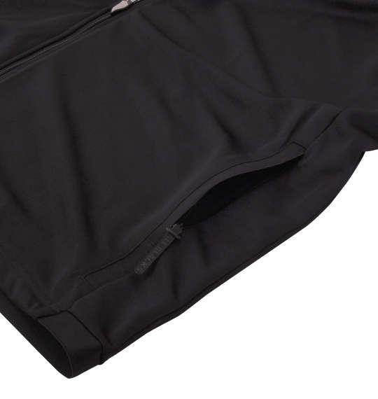 大きいサイズ メンズ adidas All Blacks フーディー ブラック 1148-8314-1 6XO 8XO