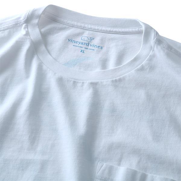 大きいサイズ メンズ Vineyard Vines (ヴィニヤードヴァインズ) ポケット付き半袖プリントTシャツ USA直輸入 1v000008