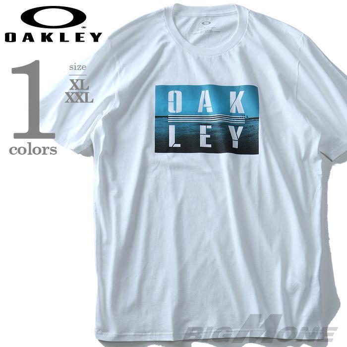 大きいサイズ メンズ OAKLEY オークリー 半袖 プリント Tシャツ USA 直輸入 oky457186vt