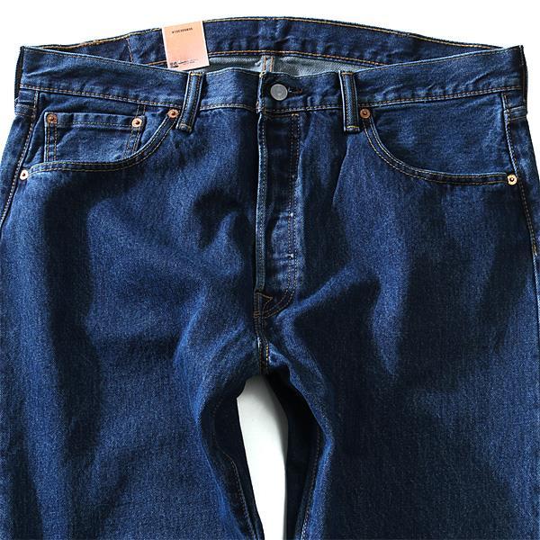 大きいサイズ メンズ LEVI'S リーバイス 501 ストレートジーンズ ボタンフライ ジーパン デニム USA 直輸入 005010194