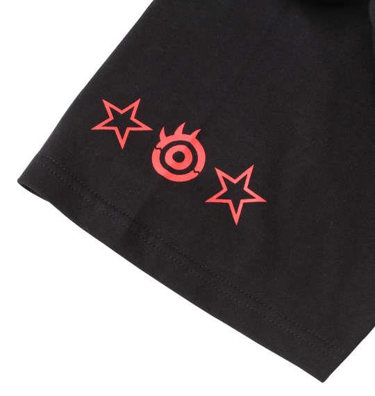 大きいサイズ メンズ 新日本プロレス 内藤哲也「CENTER OF THIS RING」半袖Tシャツ ブラック 1178-8591-1 3L 4L 5L 6L 8L