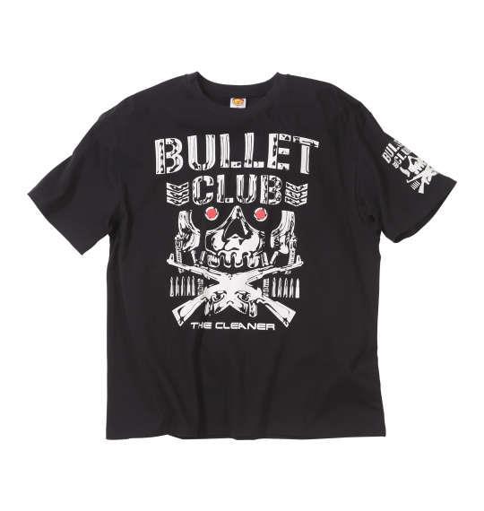大きいサイズ メンズ 新日本プロレス ケニー オメガ「BC BONE DROID」半袖Tシャツ ブラック 1178-8592-1 3L 4L 5L 6L 8L