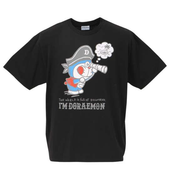 大きいサイズ メンズ I'm Doraemon 半袖Tシャツ ブラック 1178-8508-2 3L 4L 5L 6L 8L