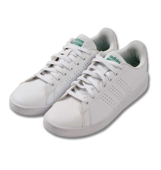 大きいサイズ メンズ adidas スニーカー クラウドフォーム バルクリーン シューズ 靴 ランニングホワイト 1140-8323-1 30 31 32