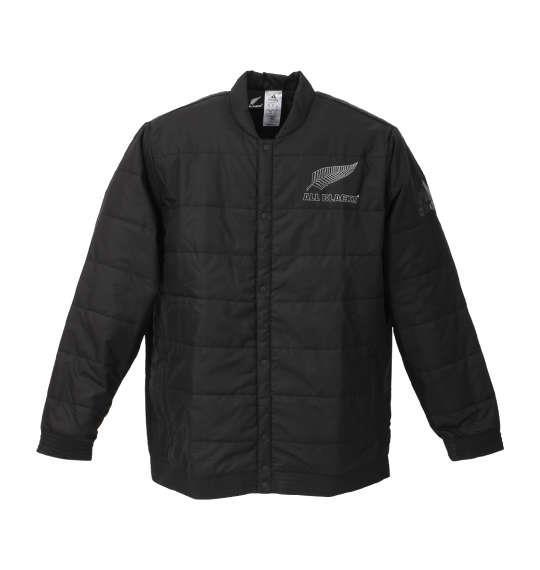 大きいサイズ メンズ adidas All Blacks サポーター ジャケット ブラック 1148-8316-1 6XO 8XO