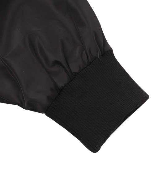 大きいサイズ メンズ SHOCK NINE ワッペン付 MA-1 ジャケット アウター ブラック 1153-8310-2 3L 4L 5L 6L