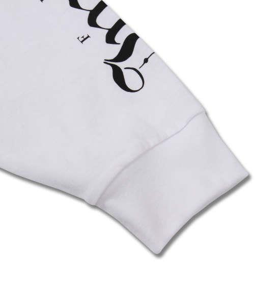 大きいサイズ メンズ RIMASTER 天竺袖 プリント 長袖 Tシャツ 長袖Tシャツ ホワイト 1158-8360-1 3L 4L 5L 6L 8L