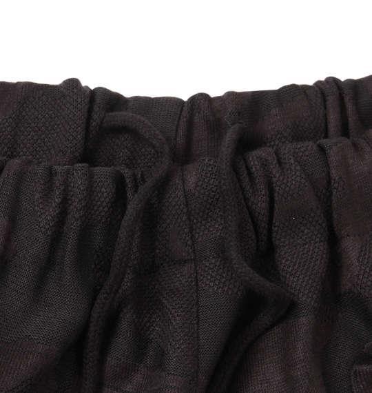 大きいサイズ メンズ 絡繰魂 虎 刺繍 カモフラ柄 ジャガード ジャージセット 上下セット セットアップ ジャージ ブラック 1158-8622-1 3L 4L 5L 6L