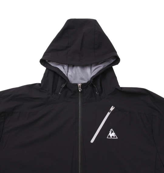 大きいサイズ メンズ LE COQ SPORTIF アウタージャケット ジャンパー ブラック 1173-8310-2 2L 3L 4L 5L 6L