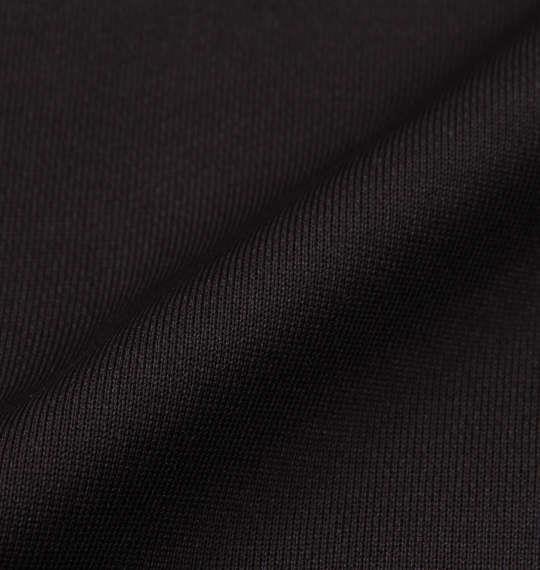大きいサイズ メンズ DESCENTE ライトスムース ドライスウェット ジャケット 長袖 アウター ジャンパー ブラック 1176-8321-2 3L 4L 5L 6L