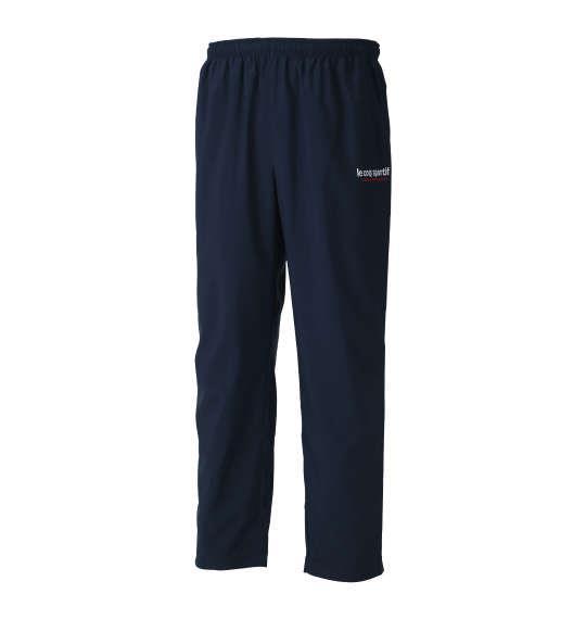 大きいサイズ メンズ LE COQ SPORTIF ウインドロングパンツ ボトムス ズボン パンツ ネイビー 1176-8351-1 2L 3L 4L 5L 6L
