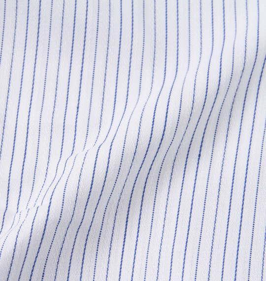大きいサイズ メンズ HIROKO KOSHINO HOMME B.D長袖シャツ ホワイト × ネイビー 1177-8312-1 3L 4L 5L 6L 7L 8L 9L