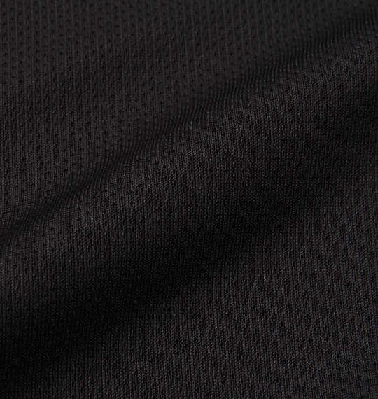 大きいサイズ メンズ DESCENTE クールトランスファードライメッシュ長袖Tシャツ ブラック 1178-8300-2 3L 4L 5L 6L
