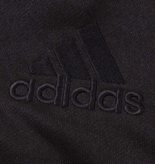 大きいサイズ メンズ adidas スウェットフルジップパーカー ブラック 1178-8351-2 3XO 4XO 5XO 6XO 7XO 8XO