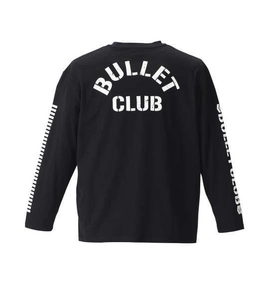 大きいサイズ メンズ 新日本プロレス BULLET CLUB長袖Tシャツ (ビッグロゴ) ブラック 1178-8370-1 3L 4L 5L 6L 8L