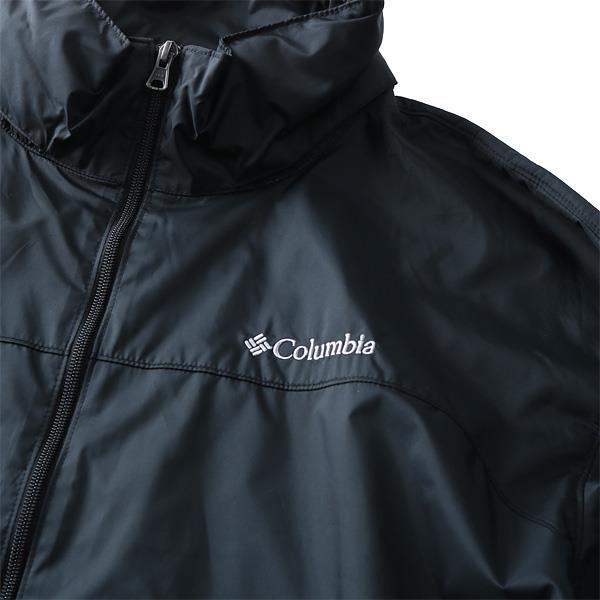 大きいサイズ メンズ Columbia コロンビア ジャケット アウター フルジップナイロンジャケット USA 直輸入 xm2296