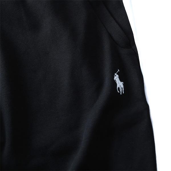 大きいサイズ メンズ POLO RALPH LAUREN ポロ ラルフローレン サイドライン ジャージパンツ パンツ ボトムス ズボン ジャージ スポーツウェア INTERLOCK PANTS USA ブラック XL XXL 直輸入 710695247