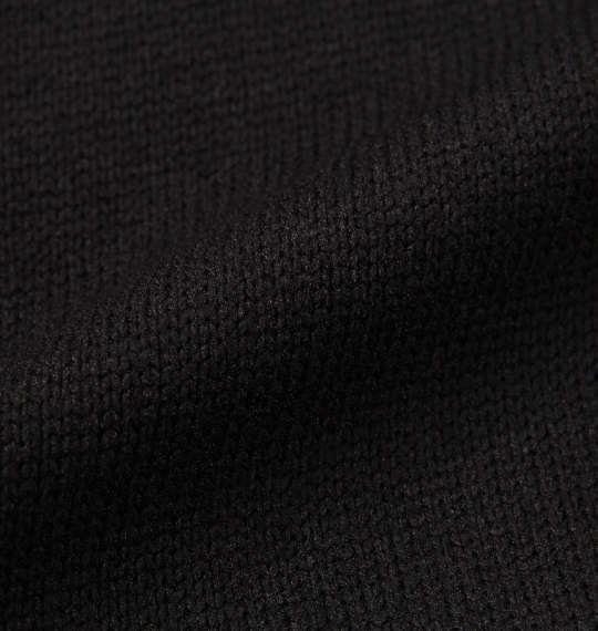 大きいサイズ メンズ SHELTY ニットフリース 刺繍 ショールカーディガン 長袖 カーディガン ブラック 1158-8376-2 3L 4L 5L 6L