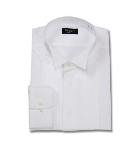 大きいサイズ メンズ マンチェス コレクション ウイングカラー長袖シャツ ホワイト 1177-8350-1 3L 4L 5L 6L 7L 8L 9L