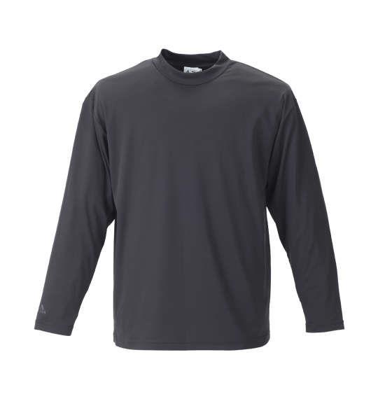大きいサイズ メンズ adidas golf ジオメトリックレイヤードB.Dシャツ ブラック × ブラック 1178-8330-2 4XO 5XO 6XO 7XO