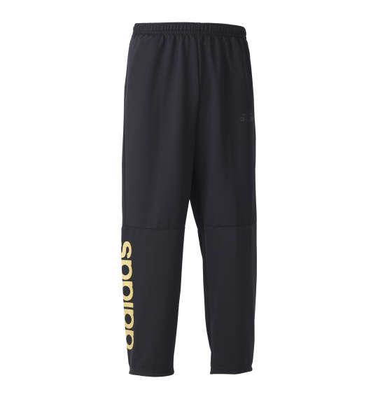 大きいサイズ メンズ adidas ウォームアップ パンツ ボトムス ズボン ブラック 1176-8331-2 3XO 4XO 5XO 6XO 7XO 8XO