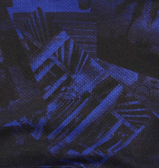 大きいサイズ メンズ RIMASTER 裏毛 フォト 総柄 プルパーカー 長袖 パーカー ロイヤルブルー 1158-8361-2 3L 4L 5L 6L 8L