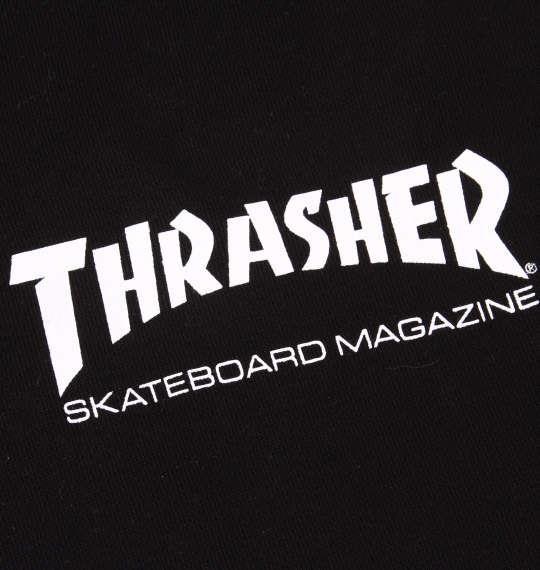 大きいサイズ メンズ THRASHER フルジップパーカー ブラック 1178-8602-2 3L 4L 5L 6L 8L