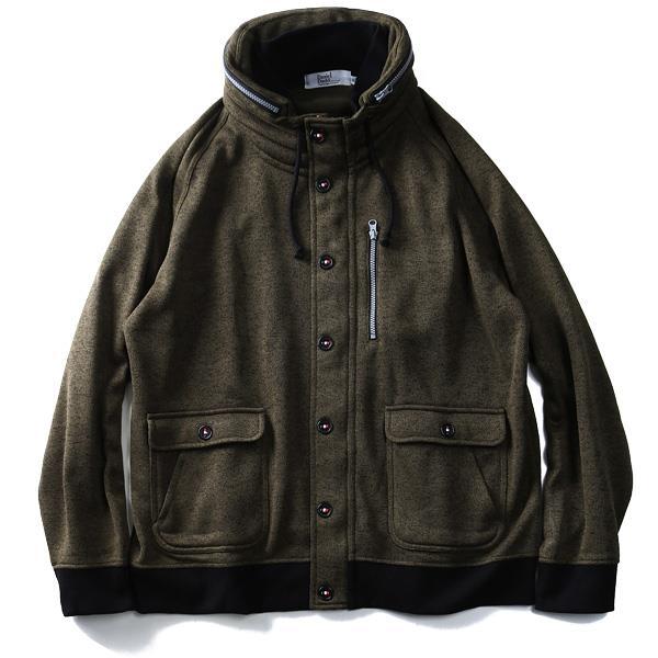 大きいサイズ メンズ DANIEL DODD ボリューム ネックカット ジャケット 秋冬 新作 azcj-180441