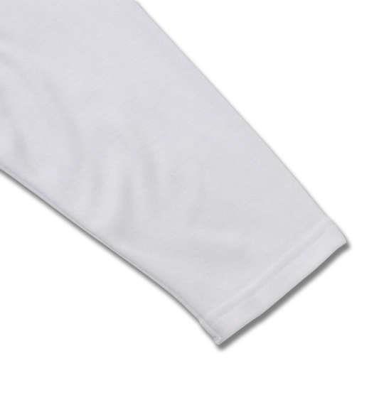 大きいサイズ メンズ Heatchanger 長袖 Vネック Tシャツ 長袖Tシャツ ホワイト 1149-8320-1 3L 4L 5L 6L 8L
