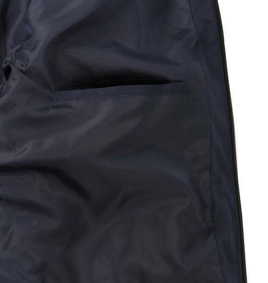 大きいサイズ メンズ PREPS ボリューム フード 中綿ジャケット アウター ジャケット ネイビー 1153-8361-1 3L 4L 5L 6L 8L