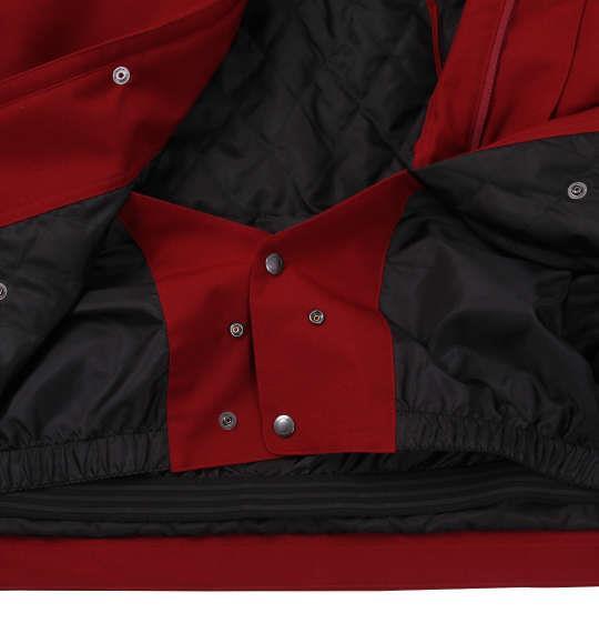 大きいサイズ メンズ nima スノーボード ジャケット スノボー スノボーウェア バーガンディ 1156-8321-1 3L 5L 7L