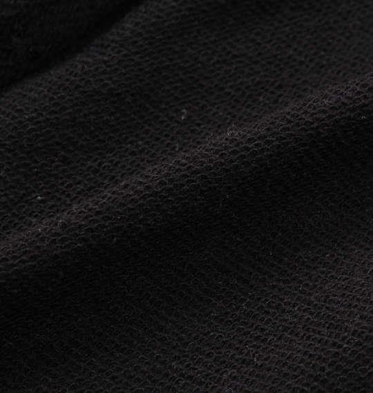 大きいサイズ メンズ RIMASTER 裏毛 スプラッシュ 総柄 プルパーカー 長袖 パーカー ブラック 1158-8362-2 3L 4L 5L 6L 8L